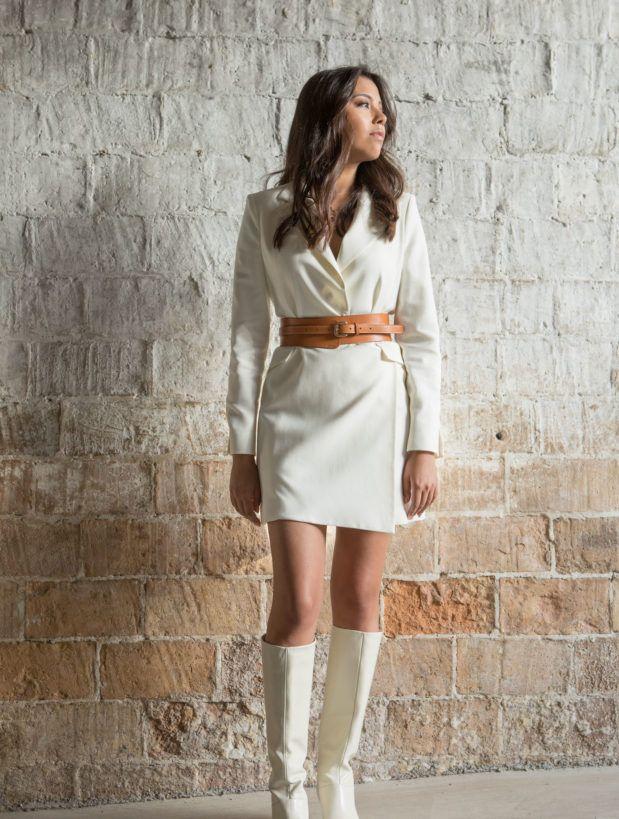 Cinturón de piel para llevar a cintura y realzar cualquier lookj