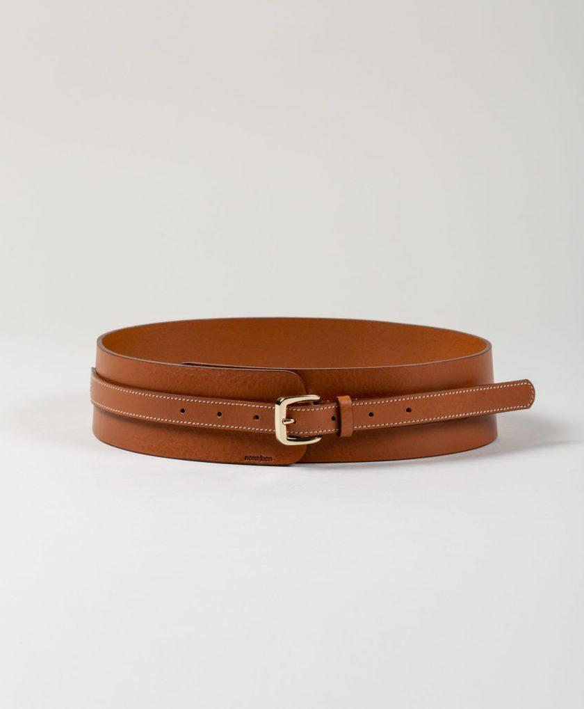 Fajín de piel para llevar a cintura con diseño tendencia.